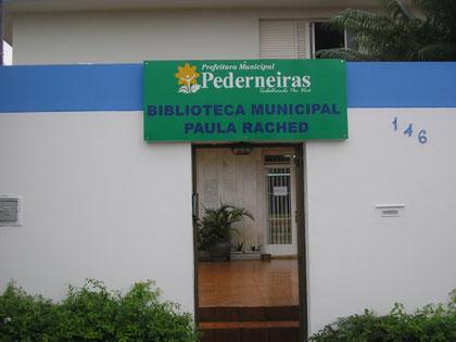 Biblioteca Municipal - Rua Benjamim Monteiro - Casa Dr. Abrão